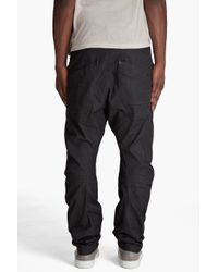 G-Star RAW - Brown Savile Loose Tapered Chinos for Men - Lyst