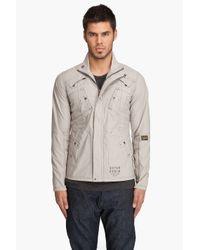 G-Star RAW - Gray Recolite Laundry Overshirt for Men - Lyst