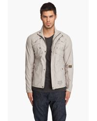 G-Star RAW | Gray Recolite Laundry Overshirt for Men | Lyst