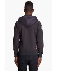 G-Star RAW - Blue Mett Hooded Zip Up for Men - Lyst