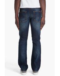 Nudie Jeans - Blue Slacker Jack Dark Organic Used Jeans for Men - Lyst
