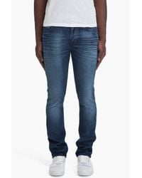 Nudie Jeans | Blue Thin Finn Organic Strikey Used Jeans for Men | Lyst