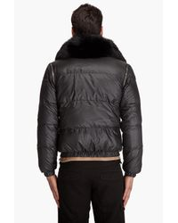 Pyrenex - Black Bad Fur Jacket for Men - Lyst