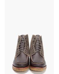 Rag & Bone - Brown Rb Crepe Moc Hi Boots for Men - Lyst