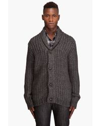 Rag & Bone | Gray Flint Cardigan for Men | Lyst