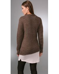 Acne Studios - Brown Lana Cardigan - Lyst
