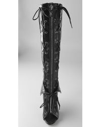 Alexander Wang - Black Freja Lace-up Boots - Lyst