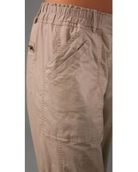 DKNY - Natural Pure Dkny Cargo Pants - Lyst