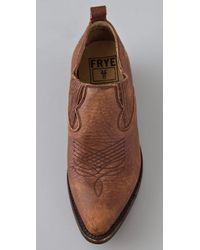 Frye - Brown Billy Shootie Booties - Lyst