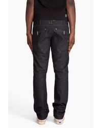 G-Star RAW - Blue Carrier Tapered Jeans for Men - Lyst