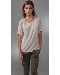 IRO | Natural Holly Tee | Lyst
