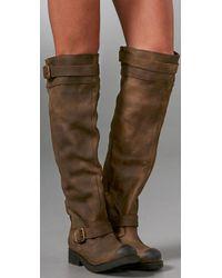 Jeffrey Campbell | Brown Wishlist Flat Engineer Boots | Lyst