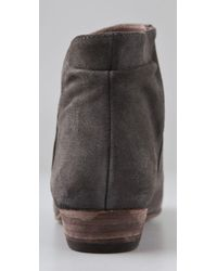 Joie - Gray Morrison Suede Ankle Boots - Lyst