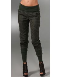 L.A.M.B. | Green Plaid Drawstring Pants | Lyst