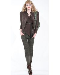 L.A.M.B. - Green Plaid Drawstring Pants - Lyst