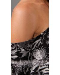 Leyendecker - Black Cropped Dolman Top - Lyst