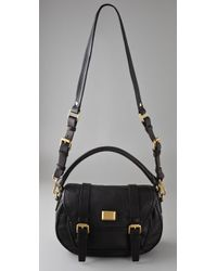 Marc By Marc Jacobs | Black Saddlery Sophie Satchel | Lyst