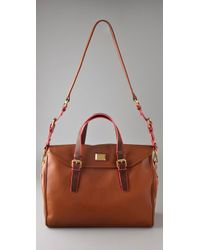 Marc By Marc Jacobs - Brown Saddlery Loulou Bag - Lyst
