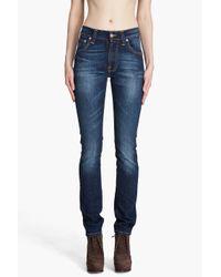 Nudie Jeans - Blue Thin Finn Deep Murky Jeans - Lyst