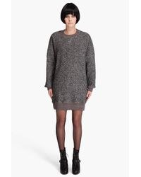 Opening Ceremony | Black Sweatshirt Dress | Lyst
