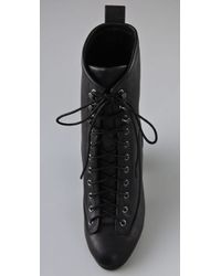 Rag & Bone | Black Combat Heel | Lyst