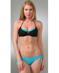 Rosa Cha - Blue Layered Bikini - Lyst