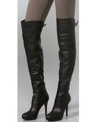 Sam Edelman | Black Vesey Over The Knee Boots | Lyst