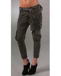 Siwy | Black Valentine Cargo Pants | Lyst