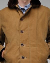Spiewak - Brown Waxed N1 Deck Jacket for Men - Lyst