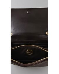 Tory Burch - Brown Fold Over Mini Bag - Lyst