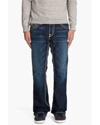 True Religion - Blue Billy Super T Jeans for Men - Lyst