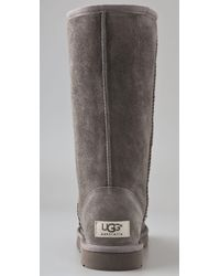 UGG | Gray Classic Tall Boots | Lyst