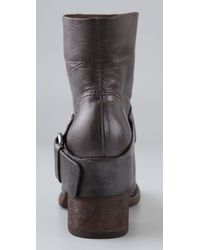 Vera Wang Lavender - Casey - Brown Leather Jeweled Boot - Lyst