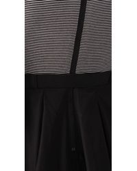 Alice + Olivia - Black Chloe Tennis Dress with Belt - Lyst