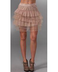 BCBGMAXAZRIA - Pink Tulle Tutu Skirt - Lyst