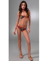Brette Sandler Swimwear | Multicolor Alexa Bandeau Bikini | Lyst