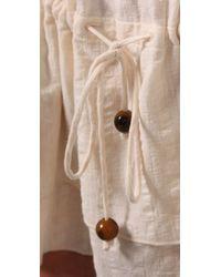 Brette Sandler Swimwear - Natural Roxie Tunic Cover-up - Lyst