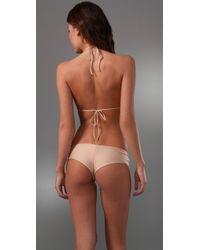 Cali Dreaming   Natural Triangle Bikini   Lyst