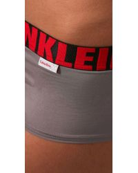 Calvin Klein - White X Micro Cheeky Boy Shorts - Lyst