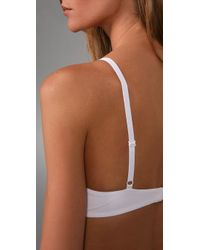 Calvin Klein - White Perfectly Fit T-shirt Bra - Lyst