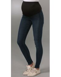 Citizens of Humanity | Blue Maternity Koi Denim Leggings | Lyst