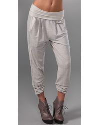 Dolan | Gray Left Coast Harem Pants with Fold Over Waist | Lyst