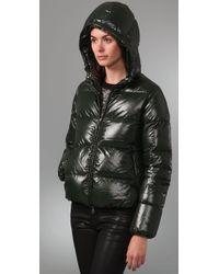Duvetica - Green Adhara Short Jacket - Lyst