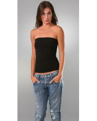 Free People | Black Seamless Tube Top | Lyst