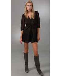 Free People | Black Wild Horse Dress | Lyst