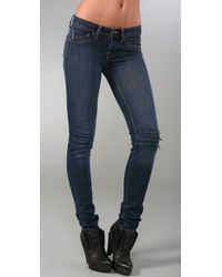 Genetic Denim | Blue The Cass Cigarette with Knee Zippers | Lyst