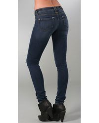 Genetic Denim - Blue The Cass Cigarette with Knee Zippers - Lyst