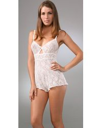 Hanky Panky | Signature Lace Teddy, White | Lyst