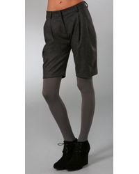 Jenni Kayne | Gray Jodhpur Shorts | Lyst