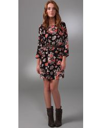 Joie | Multicolor Lenny Cartoon Floral Dress | Lyst